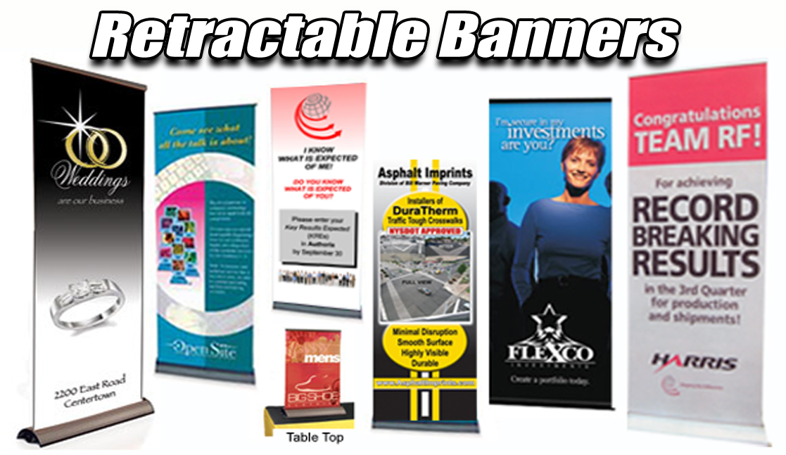 Retractable Banners - Rochester Signs And Graphics Rochester NY