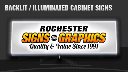 Backlit Signs, Illuminated Signs, Box Signs, Cabinet Signs