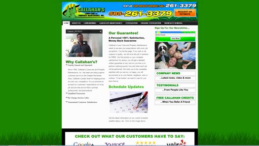 callahanlawncare-website